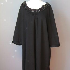 Maggie Barnes Cocktail Dress black jeweled